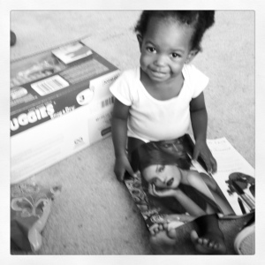 the littlest gal